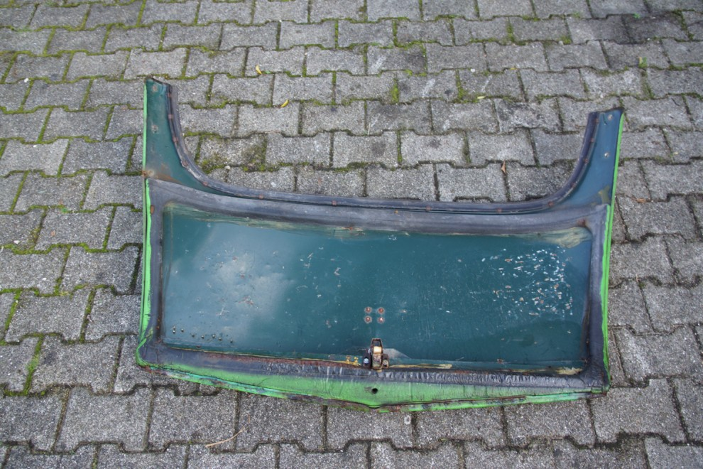 #14 Bagklap, grøn